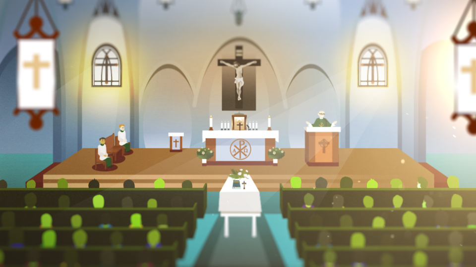 What happens at a Catholic funeral? | The funeral | The art of dying