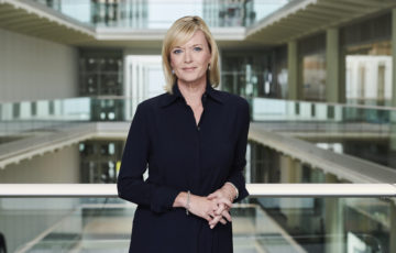Julie Etchingham of ITV News at Ten tells us what it's like to report on the pandemic